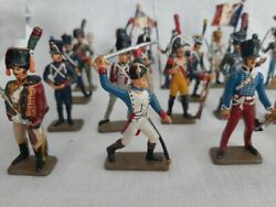 21 Pcs Starlux Old Lead Soldiers - Collection