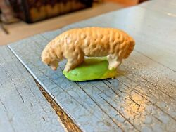 Putz Sheep Grazing Germany German Nativity Antique Toy Composition