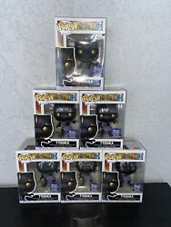 Funko Pop Marvel Black Panther Tandrsquochaka Funko Hollywood Exclusive 867 In Hand
