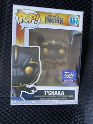 Funko Pop Marvel Black Panther T'Chaka Hollywood Exclusive #867 amp; Protector
