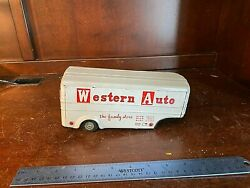 Vintage Marx Western Auto The Family Store Tin Litho Trailer Only. 11649
