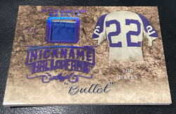 2019 Leaf In The Game Used Bob Hayes Nickname Hall Of Fame Patch 2/6 Cowboys