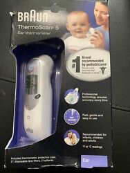 Braun Digital Ear Thermometer ThermoScan 5 IRT6500 Brand New