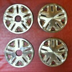 1993-1998 T100 Toyota Tacoma 4x4 Ty 15andrdquo Hubcaps Wheel Covers 462134011 Set Of 4