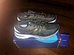 Asics Gel-kayano 25 Womenand039s Running Shoes Athletic Sneakers Black Blue Size 8.5
