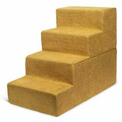 Best Pet Supplies Made In Usa Foldable Pet Steps/stairs With Certipur-us Cert...