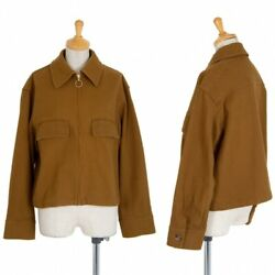 Beauty And Youth United Arrows Cotton Zip Blouson Size S-mk-86446