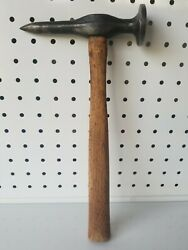 Vintage Auto Body Hammer Large Face And Pick, 6 Length, Usa, Free Shipping