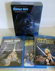 Laugh It Up, Fuzzball The Family Guy Trilogy Blu-ray Set Blue Harvest
