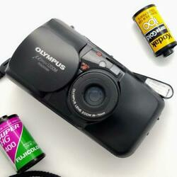 Film Camera For Beginners Complete Product Pole Popular Black Olympus Zoom