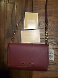 Michael Kors Jet Set Travel Crossbody Wallet. Strap can come off. NWT $95.00
