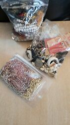 Vintage /modern Lot Of Rhinestone Costume Jewelry Necklaces Some Signed