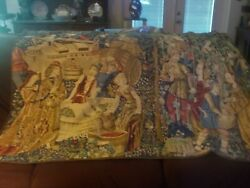 Large Tapestry quot;Russian Harvest quot; made in France mfg. $750 68 x 45