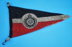 Wwii German Wwi Der Stahlhelm Motor Corp Army Vehicle Pennant Parade Flag Banner