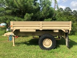 Army Surplus Stewart And Stevenson Lmtv M1082 Trailer With Title No Reserve