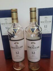The Macallan 12 Year Double Cask Scotch Whisky Empty Bottle And Box Pack 2