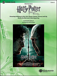 Score Harry Potter And The Deathly Hallows Part2 Medley 38343/imported Wind