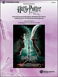 Score Symphonic Suite Harry Potter And The Deathly Hallows Part2 38384/imported