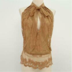 Hermes Sold Out Rare Race Ribbon Blouse From Japan Fedex No.2187