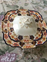 Vintage Lidded Serving Dish By Myott Son And Co, Derbytone, Made In England.