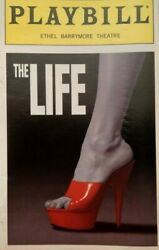 The Life Playbill Barrymore Theatre 1997 Sam Harris And L. White - Nice Condition