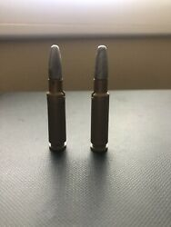 Two 2 Johnny Eagle Red River Plastic Toy Rifle Bullets - Topper