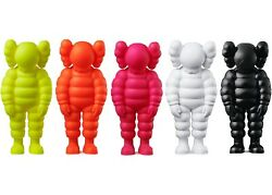 Brand New Rare Kaws Andldquowhat Partyandrdquo Vinyl Figures Complete Set All 5 Colors In Hand