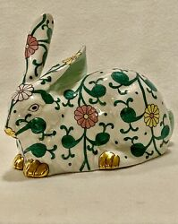 Herend Siang Blanc Bunny Rate - Estate - Mint