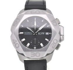 Rsw Nazca 4400 Chronograph Black Dial Automatic Menand039s Watch Y105637