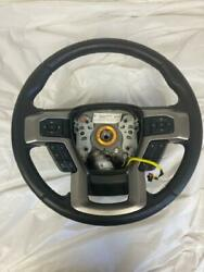 Oem 2017-2020 Ford F-250 F250 Black Steering Wheel With Controls And Sensors Black