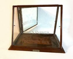 Antique Parker Jointless Lucky Curve Original Fp Display 20andacutes. Usa Ar4968