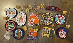 Lot Of Vintage Ringling Bros Barnum And Bailey Patches And Pins Read Description