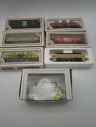 Vintage Bachmann Ho Train Scale Lighted Car Brill Trolley South Hills Lines 38