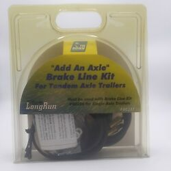 Tie Down Engineering 80327 Add An Axle Brake Line Kit For Tandem Axle Trailers