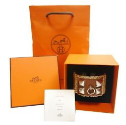 Authentic Hermes Bangle Collie Edsian Picnic Willow 5461