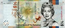 Bahamas 2019 Ticket New Of 50 Cents Pick Novelty Unc Uncirculated