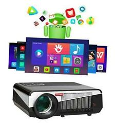 9500 Lumens Android Wifi Projector Real Native1080p Video Projector Lcd Led