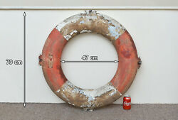 Used Old Life Ring Buoy 79 Cm Lifebuoy Perrybuoy - Free Delivery