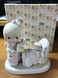 Precious Moments Make Me A Blessing 1986 In Box 10012