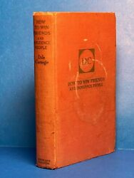 Dale Carnegie How To Win Friends And Influence People. Signed Inscribed 1940