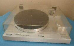 Yamaha P-350 Direct Drive Semi-automatic Turntable Made In Japan See Video