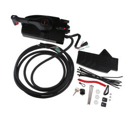 Pull Boat Motor Side Mount Remote Control Box For Mercury Outboard Engine