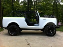 I.h. International Scout 800 Roll Bar Roll Cage Kit Scout 80
