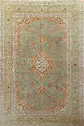 Antique Overdyed Floral Ardakan Handmade Area Rug Evenly Low Pile 8and039x12and039 Carpet