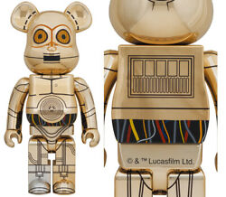 Be@rbrick C-3po 1000 Star Wars Figure Limited Edition 2021