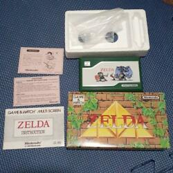 Super Rare Zelda Game Watch Box With Instructions