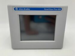 Ab Touch Screen 2711p Hmi 2711p-t6c5d8 Panelview Plus 600 5.7 In 320x240 Px
