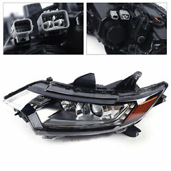 Left Headlight Driver Side Front Lamp Replacement For 16-20 Mitsubishi Outlander