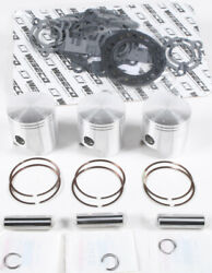 Wiseco Wk1218 Top End Piston Kit 0.71mm Overbore 72mm Fits Polaris Sl T X 780