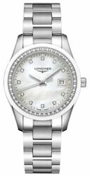 Longines Conquest Classic Steel Mother-of-pearl Diamonds Womens Watch L23870876